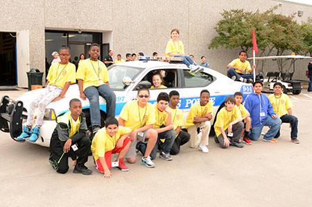 Dallas Junior Police Academy 2014