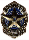Dallas Junior Police Academy Gold Lapel Pin