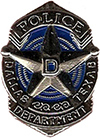 Dallas Junior Police Academy Silver Lapel Pin